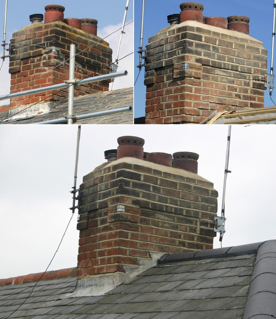 chimney Stack and Flashings